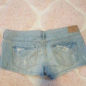 Hollister Shorts - Hollister distressed jean shorts